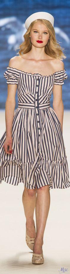 Spring 2017 Ready-to-Wear Lena Hoschek   Berlin Fashion Week   Supernatural Style
