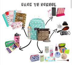 Back to school tumblr inspired essentials.