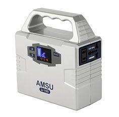 3.3lb 100W(Peak 200W) Portable Solar Generator (Power Inverter) - 40800mAh 150Wh Battery - Solar/AC/Car Charging Cable - 2 AC & 3 DC 12V & 2 USB Ports. For product info go to:  https://www.caraccessoriesonlinemarket.com/3-3lb-100wpeak-200w-portable-solar-generator-power-inverter-40800mah-150wh-battery-solaraccar-charging-cable-2-ac-3-dc-12v-2-usb-ports/