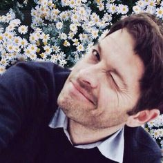 Flirty Misha <--- oh my god! I just read filthy instead or flirty and was just like yeah okay:D