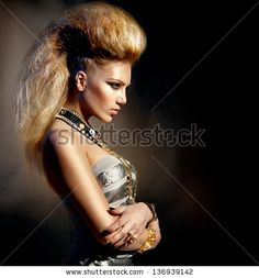 Hairstyle Stock Photos, Hairstyle Stock Photography, Hairstyle Stock Images : Shutterstock.com