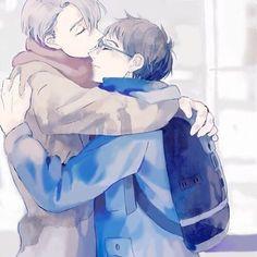 's → GOD I LOVE THEM SO MUCH MY HEART! © to kawaii artist (please let me know If you know the artist, thanks!)  [ғoʟʟow мy вαcĸυp @yurionice.desu If you want ] (っ˘з('∀'●)♡ ¶ ¶ ¶ ¶ {#anime#manga#phichitchulanont#minamikotori#victornikiforov#yuriplisetsky#yurikatsuki#yurio#victuri#shounenai#boyxboy#boyslove#bl#victorxyuri#yuri#yaoi#yaoionice#yurionice#gay#yaoimanga#viktornikiforov#art#follow#yaoicouple#otp#seme#uke#paint#beijing#phichit_chu}