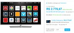 "Smart TV LED 50"" Philips 50PUG6700/78 Ultra HD 4K 3 HDMI 3 USB Android TV Dual Core << R$ 249900 >>"