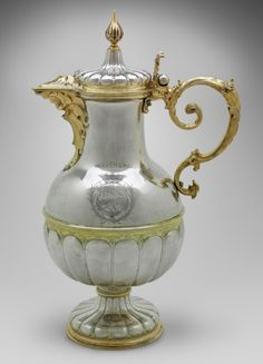 Wine potabout ca.1650. Silver, parcel-gilt. Germany. Friedrich Kettwyck | Museum of Fine Arts, Boston