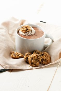 oatmeal cookie hot chocolate