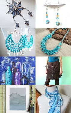 All shades of blue! by Stanislavs Skupovskis on Etsy--Pinned with TreasuryPin.com