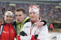 Ole Einar Bjoerndalen and Tarjei Boe