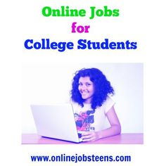 apply for online jobs for college students