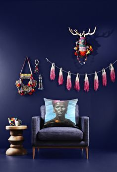 African inspired style for KuDu, the Online Boutique. http://kuduhome.com/