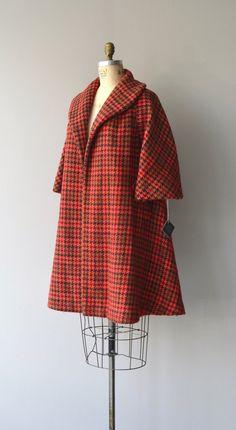 Lilli Ann coat vintage 1950s swing coat by DearGolden on Etsy