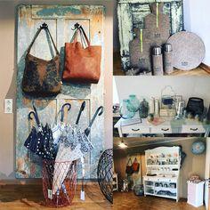 Der Laden im ehemaligen Bauernhof in Kirchstett. Wunderschöne Taschen, Schmuck und Heimdeko. Vintage meets vintage-style.