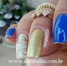 Azul tão lindo!