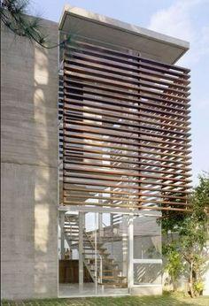 Elementos vazados na fachada: brises | Blog da Giacomelli