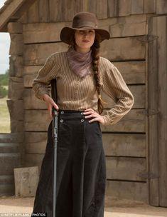 Bang bang:Michelle Dockery could be seen touting a gun in upcoming Netflix limited series Godless