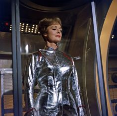 'Lost in Space' (Season by Gabi Rona© 2015 Legend Pictures, LLC Sci Fi Tv Series, Sci Fi Tv Shows, June Lockhart, Space Tv Shows, Space Movies, Mix Photo, Classic Sci Fi, Space Girl, Lost In Space