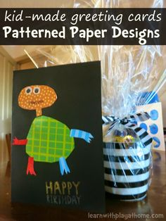 These cool pattern paper designs are fabulous to practice drawing, design and cutting skills. Use them to make gorgeous gift cards or artwork worth framing.