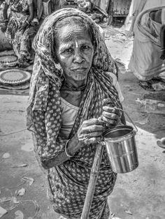 Old Lady by Indranil Dutta on 500px