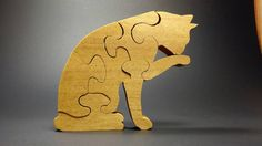 Check out this item in my Etsy shop https://www.etsy.com/listing/502542683/cleaning-cat-wood-puzzle