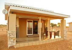 Lodge 5km from Kgalagadi Transfrontier Park28 Chalets74 beds Shop Restaurant Liquor Shop Bakery and a lot more
