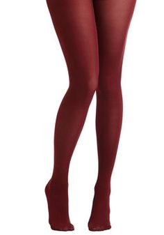 Tights for Every Occasion in Wine, #ModCloth