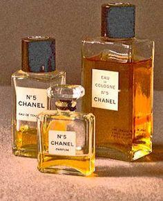 Older bottle of Chanel No 5