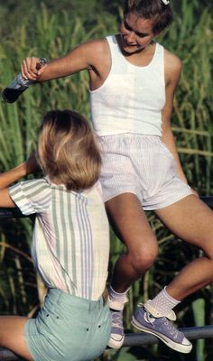 Palma Kolansky for Seventeen magazine, July 1984