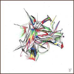 The lines begin to blur #ink #abstract #abstractart #kennedyboareto www.be.net/kennedyboareto