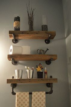 Best Small Space Organization Hacks: 31 Gorgeous Rustic Bathroom Decor Ideas to Try at Home
