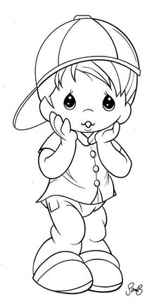 Free Adult Coloring, Coloring Pages For Boys, Cartoon Coloring Pages, Disney Coloring Pages, Animal Coloring Pages, Coloring Book Pages, Precious Moments Coloring Pages, Disney Drawings, Digital Stamps