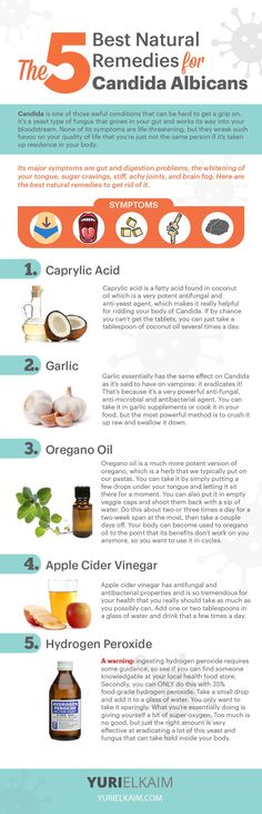 The 5 Best Natural Remedies for Candida Albicans!