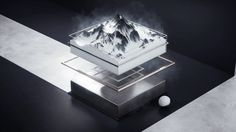 "A new commercial for OPPO ,this time client ask me to make a new concept for OPPO R9 's new black version called ""雪岩灰"". Thanks to the high…"