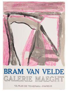 Bram van Velde - Exposition 1975