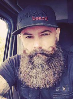 Moustache, Handlebar Mustache, Beard No Mustache, Grey Beards, Long Beards, Long Beard Styles, Hair And Beard Styles, Beard Love, Man Beard