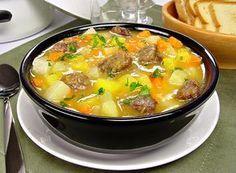 Receita de sopa cremosa de legumes
