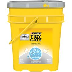 Purina Tidy Cats With Glade Tough Odor Solutions Clear Springs Cat Litter - (1) 35 lb. Pail