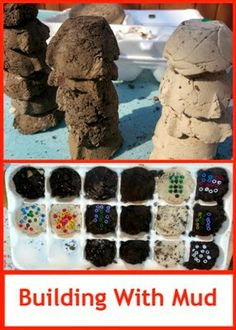 Building with Mud - Making Adobe Mini-Bricks #stem #scienceforkids