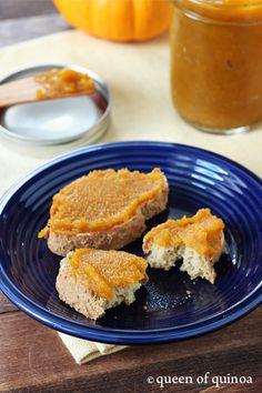 Sugar-Free Pumpkin Butter   Gluten-Free   Queen of Quinoa