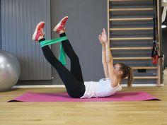 Sportübung für den Bauch Trainer, Workout, Fitness, Exercise, Gym, Style, Fashion, Tighten Stomach, Tight Tummy