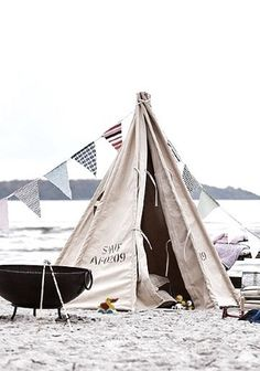 Canvas tent TIPI