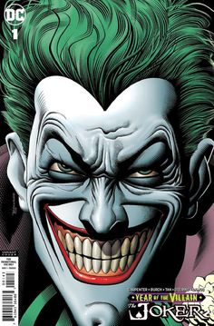 Publisher: DC Comics Release Date: October 2019 Artist: Brian Bolland Character: Joker Ratio/Type: Retailer Gift Variant Joker Dc Comics, Joker Comic, Dc Comics Art, Joker Photos, Joker Images, Joker Iphone Wallpaper, Joker Wallpapers, Joker Drawings, Joker Face Drawing