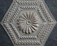 Bedspread Crochet Pattern with