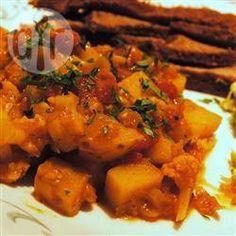 Madras potato curry @ allrecipes.co.uk