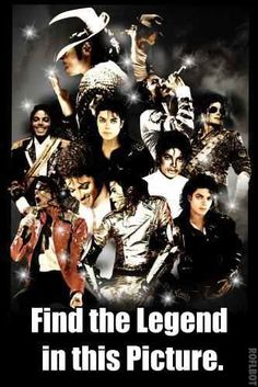 THE POSTER IS OF MICHAEL JACKSON