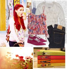 """""""Ariana Grande"""" by starlight-twin ❤ liked on Polyvore"""
