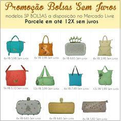 Bolsas Femininas em até 12X Sem juros. Veja Aqui   SP BOLSAS a disposição no Mercado Livre. Escolha a sua e receba em casa com total segurança e qualidade!  #bolsas #femininas #modelos #moda #mercado #livre #mercadolivre #comprar #parcelado #novos #estilos #entrega #brasil