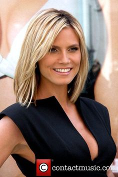 Heidi Klum- love this hair length