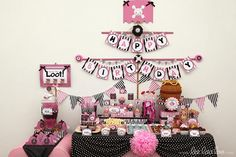 The best party for a girl EVER!