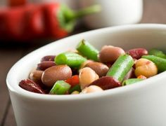 Almost Classic Five-Bean Salad | Oldways