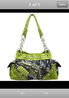 Women's realtree pistol handbag! Forget the rest of the purses I want this one!!!!!!