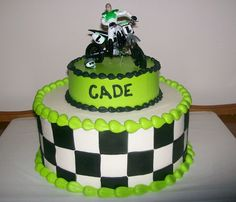 Cade's Dirtbike  on Cake Central